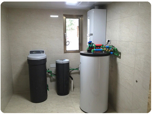 净水系统—中央净水机+中央软水机